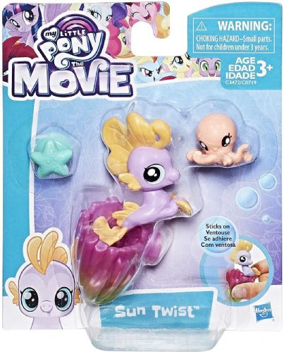 Roll over image to zoom in My Little Pony Movie Baby Seapony Sun Twist